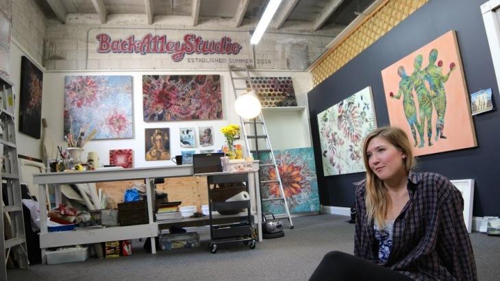 Noel Back Alley Studio